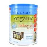 贝拉米Bellamys有机婴幼儿有机奶粉2段/二段