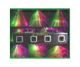 RGB 4头5色电机扫描动画激光灯