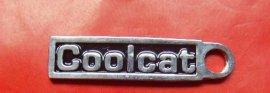 厂家供应 服装标牌 拉链标牌 金属铭牌