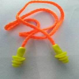 硅胶带线耳塞 隔音耳塞游泳防水耳塞 防噪音耳塞