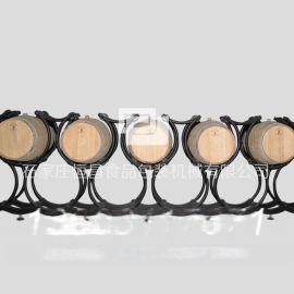 厂家直销旋转橡木桶支架 可加工定制