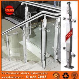 玻璃楼梯扶手栏杆 楼梯不锈钢立柱 阳台护栏 金日盛定做扶手