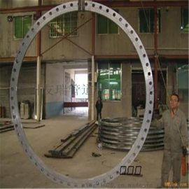 盐山大型法兰加工 压力容器法兰批发  钢板卷制法兰厂