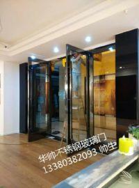 深圳罗湖水贝玻璃门办公室商铺钢化玻璃门 玻璃隔断上门定做安装