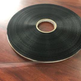 供应HDPE膜13MM封缄双面胶带黑白网格易撕