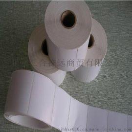 Zebra888-TT打印机专用打印纸 热敏不干胶纸 热敏条码打印纸60*30