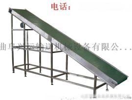 厂家直销600带宽 圆管结构的爬坡皮带输送机 加工定做