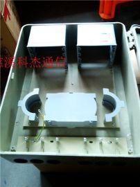 SMC72芯光纤分纤箱壁挂式光纤分线箱1分64光分路器箱这个可以有