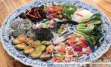 供應景德鎮陶瓷大盤 酒店海鮮魚盤 1米特大龍鳳款陶瓷大盤廠家價格