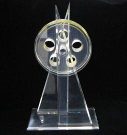 亚克力奖杯 经销牌 有机玻璃制品 亚克力工艺制品
