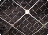 包頭邊坡防護網 鋼絲繩網 主動邊坡雙層防護網