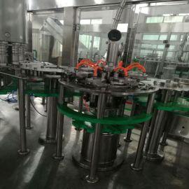 川腾机械厂家供应全自动玻璃瓶灌装机 玻璃瓶灌装生产线