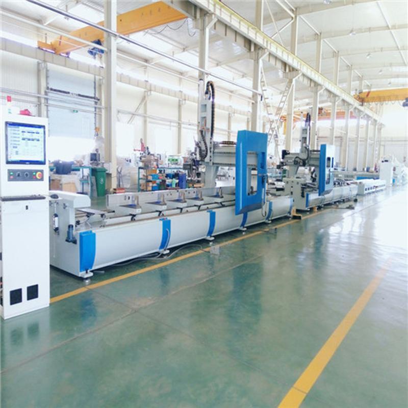 工业铝加工设备 四轴加工中心铝型材龙门四轴加工中心