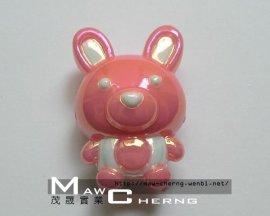 压克力饰品 (23mm 小兔子)