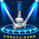 Z745T污水自來水Z645T鑄鋼液動法蘭閘閥DN80 100 125 150 200