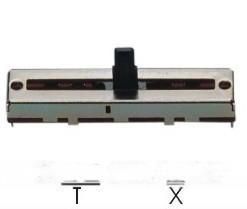直滑式電位器