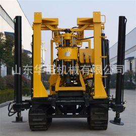XYD-130履带式液压水井钻机工程地质勘探钻机地基勘察取芯钻机