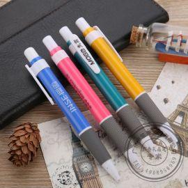 笔海文具 9P822塑料圆珠笔 免费设计LOGO订做 按动广告礼品笔 定做笔厂家