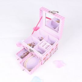 厂家定制现货批发创意带锁扣化妆品包装纸收纳盒饰品珠宝首饰盒