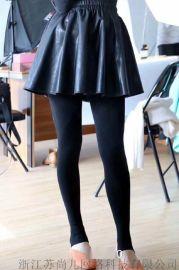 蘇尚兒貂絨塑形褲2.0版加絨打底褲踩腳襪石墨烯加抗菌加厚保暖