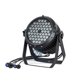 七彩54颗3W防水帕灯LED户外舞台面光灯