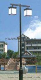 3米4米led节能太阳能庭院灯一体化道路小区景观灯
