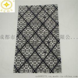 厂家直供PE防静电网格袋导电网格袋黑色屏蔽格纹胶袋