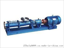 噪声小,无泄漏,无温升、G型单螺杆泵