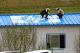 北京彩钢板房、阳光房安装、彩钢厂房隔层制作