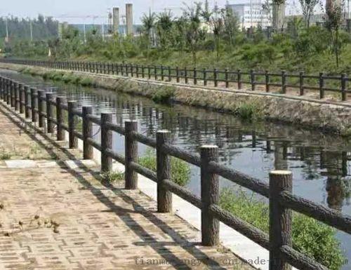 水泥仿木欄杆、水泥仿木欄杆製作流程