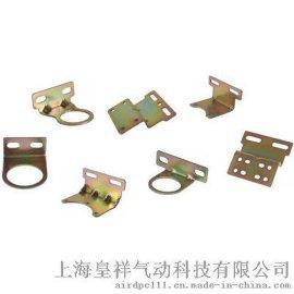 DPC三联件二联件支架 减压调压阀空气过滤器油雾器支架