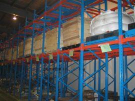 压入式货架专业供应,后推小车货架专利设计-上海里合货架