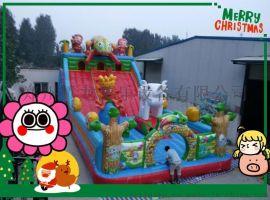 天津腾龙充气城堡价格 大型充气玩具 充气滑梯生产厂家