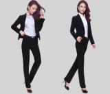 女士西裝職業裝套裝大碼商務正裝工作服黑色小西服春季新品