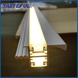 嵌入式LED橱柜灯线形暗装衣柜灯家居柜壁灯长条形LED灯管硬灯条