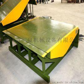 10t固定式叉车装卸平台、液压固定登车桥厂家