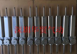 AIRWAMO锁紧气缸MNB32-100非标机械手柔性气缸定制
