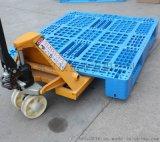 塑料托盤與叉車的配套使用問題叉車托盤網格川字型