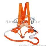 高空作业双保险安全带双保险电工安全绳二道保护绳