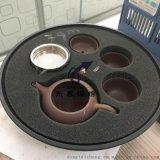 陶瓷茶具防碎內襯定制海綿緩衝墊/異形海綿一體成型