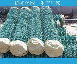 浸塑勾花网 武汉包塑勾花网生产厂家 护坡铁丝网