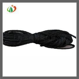 供应高温石墨绳 碳绳 碳纤维绳 石墨软毡用绳 石墨制品 石墨配件