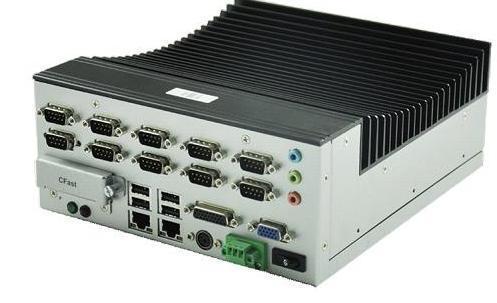 順牛多串口嵌入式工控機無風扇TEM-A2N10S-D2550適用於地鐵閘機等