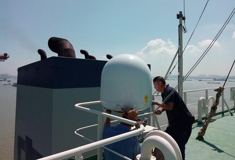 莫威YM750PM船载卫星天线船用电视天线多星选择