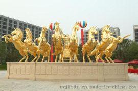 西方人物地产铜雕塑铸铜马阿波罗