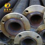 鋼製高頻焊螺旋翅片管 螺旋翅片管散熱器
