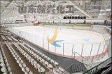 冰球場圍欄 比賽圍欄界牆PE圍板生產廠家