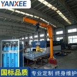 浙江溫州0.5噸立柱式懸臂吊真空吸吊機板材吊運設備