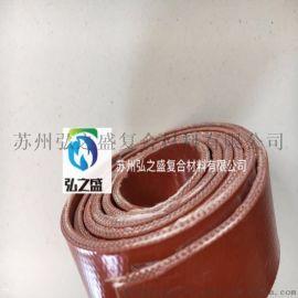 硅钛合金橡胶板 3厘米法兰密封垫料 阻燃密封胶条