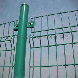 厂家直销框架铁丝网围栏 定制三角折弯护栏网防盗网